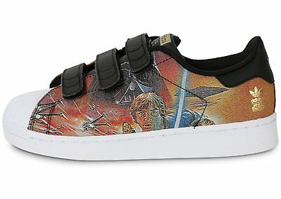 Scarpe ADIDAS SUPERSTAR STAR WARS CF C - S82764 Junior Bambino