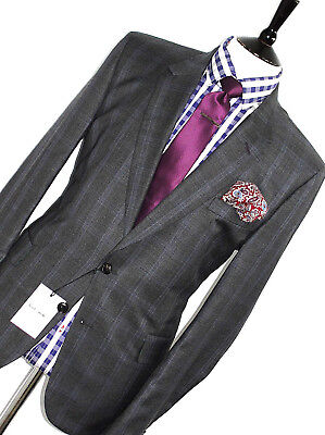 Bnwt Luxury Mens Paul Smith London The Mainline 2018 Edition Check Suit 46R W40