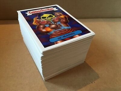 Garbage Pail Kids GPK We Hate The 80s WHT80s Complete Base Set! Mint!