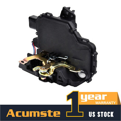 Front Door Lock Actuator&Latch Left LH For 1998-10 VW Jetta Passat Golf Beetle