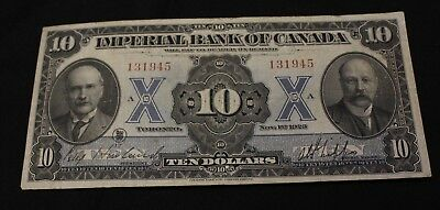 1923 $10 Imperial Bank of Canada ch- 375-18-08