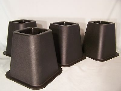 6 Inch Bed Risers Creates E For Under The Storage Set Of