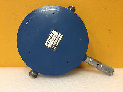 ARRA 5414-40 4 to 7 GHz, 0 to 40 dB 10 W, Type N (F) Variable Attenuator. Tested