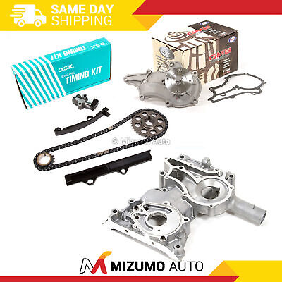 OSK JAPAN TIMING Chain Kit Cover GMB Water Pump Fit 83-84 Toyota 2 4 SOHC  22R
