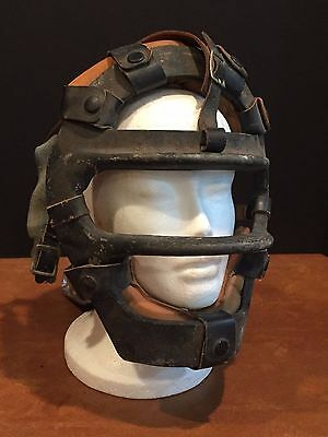 Antique Vintage Baseball Catcher's Mask c. 1940s-1950s