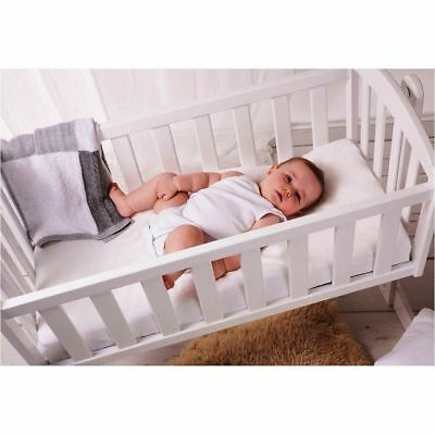 Crib Mattress Supper Soft And Breathable Nursery Baby Pram Swing Made In Uk