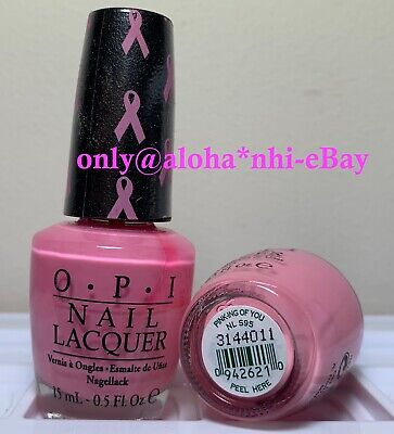 OPI Nail Polish * Pingk-ing of You * NL S95 * New Lacquer * Full Size 0.5 oz