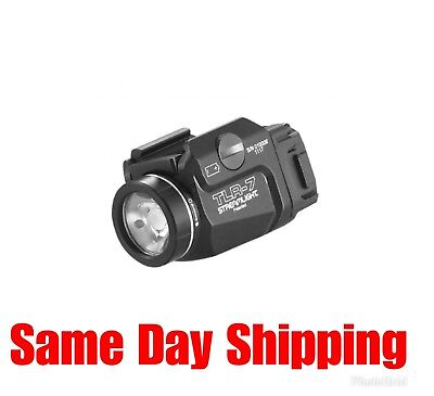 New Streamlight TLR-7 Tactical Weapon Light, 500 Lumens, Black, 69420