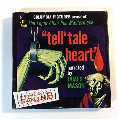 Vintage 8mm Super 8 Sound Movie Tell Tale Heart