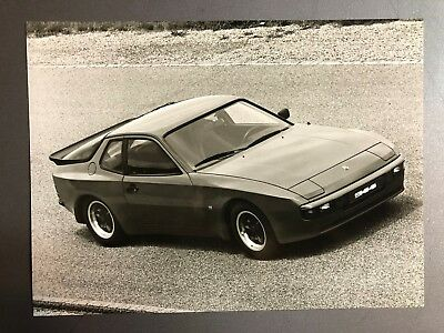 "1983 Porsche 944 Coupe B&W Press Photo Factory Issued ""Werkfoto"" RARE!! Awesome"