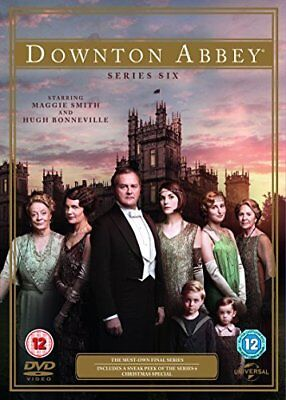 Downton Abbey - Series 6  with Maggie Smith New (DVD  2015)