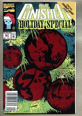 Punisher Holiday Special #1-1993 fn+ Marvel Newsstand Variant Giant-Size