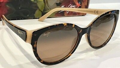 NEW Maui Jim VENUS POOLS POLARIZED SUNGLASSES DK TORTOISE BRONZE GLASS IN STOCK!