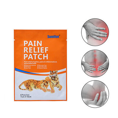 8PCS/BAG MEDICAL PAIN Relief Patch Pain Relieving Patch for