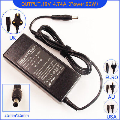 AC Power Adapter Charger for Fujitsu-Siemens LifeBook T4410 T900 Laptop
