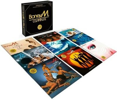 Boney M Complete box set  Vinyl 9 LP NEW sealed