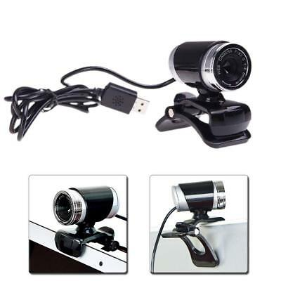 USB 50 Megapixel Webcam Web Cam Camera & Microphone Mic For Laptop PC BYむ