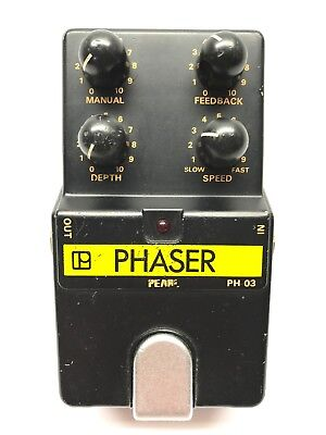 Pearl PH-03, Phaser, Made In Japan, 1980's, Vintage Guitar Effect Pedal