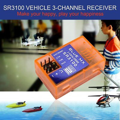 SR3100 2.4G Band 3 Channel Car-Truck Race Receiver for DX3R DX3E DX2S DX4C FK
