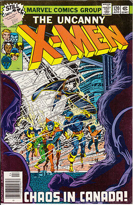 Marvel Uncanny X-Men, #120, 1979, 1st Aurora, Alpha Flight cameo, John Byrne