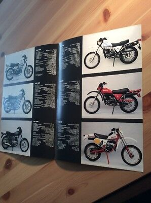 Cagiva Motorcycle Original Sales Brochure
