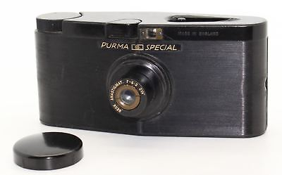 Purma Special Bakelite Gravity Camera 127 roll film with carry case c.1937 - GC