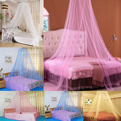 Net Canopy Bed Curtain Home Tent Mosquito Insect Stopping Double Single Queen