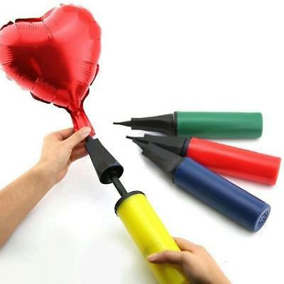 DIY Hand Balloon Inflator Air Pump Soccer Needle Ball For Birthday Party Supply
