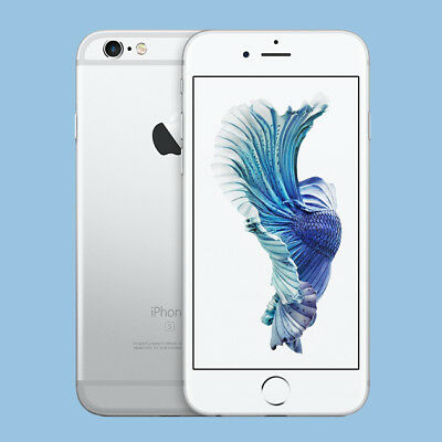 Apple iPhone 6s - 64GB - Silber (Ohne Simlock) TOP!