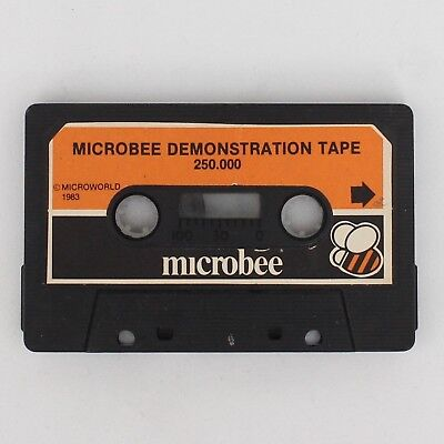Vintage Microbee Computer Demonstration Tape 250.000 (Microworld 1983) *AS IS*