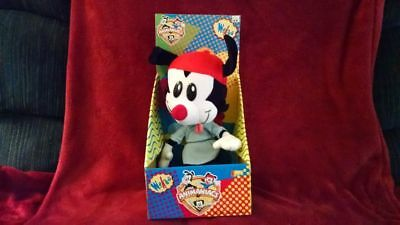 Animaniacs WAKKO Doll Character Play by Play Posable 13 inch New in Box 1995
