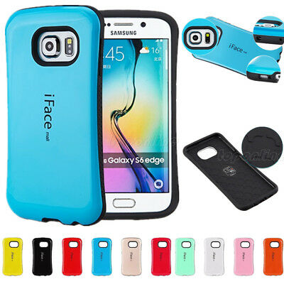 iFace mall Heavy Duty Shockproof Hard Case Cover For Samsung Galaxy S6/7 S8+Plus