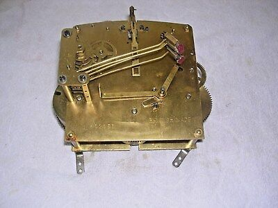 CLOCK  PARTS , CLOCK MOVEMENT, 4  HAMMERS  a