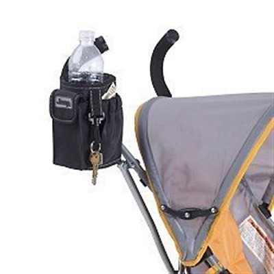 NEW H.I.S. Juveniles Jeep Stroller Cup Holder - Black
