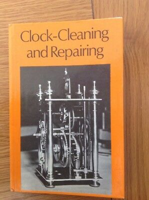 Clock Cleaning & Repairing 176 Page Hardback Book VGC