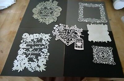 Tattered Lace Stephanie Weightman Totally Entwined Collection 4 Sets Large