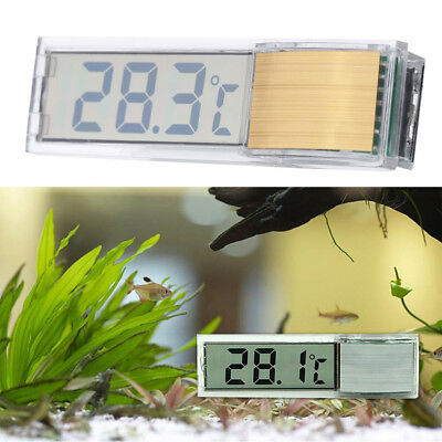 New 3D LCD Display Electronic Fish Tank Aquarium Thermometer Water Temperature
