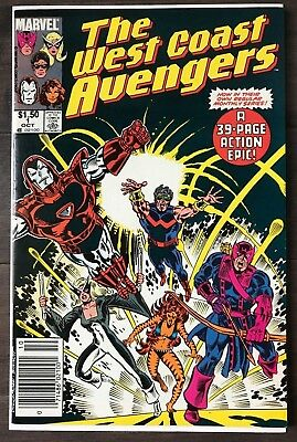 West Coast Avengers #1 HIGH GRADE ~CANADIAN VARIANT~KEY ISSUE!L@@K!