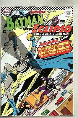 Brave And The Bold #64-1966 vg/gd  Eclipso / Batman