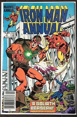 Iron Man Annual #7 HIGH GRADE ~CANADIAN VARIANT~KEY ISSUE!L@@K!