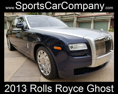 Rolls-Royce Ghost 4dr Sedan 2013 ROLLS ROYCE GHOST LOW MILE LOADED & STUNNING EXAMPLE INSIDE & OUT!