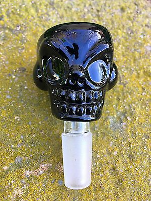 14mm /18mm Black Skull Glass Bowl Thick Glass