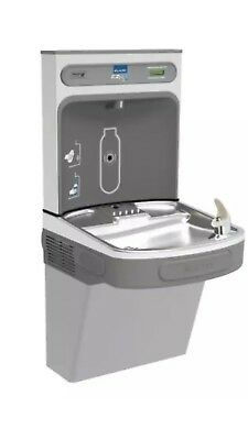 Elkay LZS8WSL EZH2O Wall Mount Drinking Fountain and Bottle Filling Station