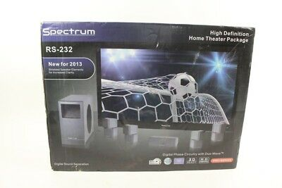 SPECTRUM RS232 High Definition Home Theater Speakers - $52.00 | PicClick