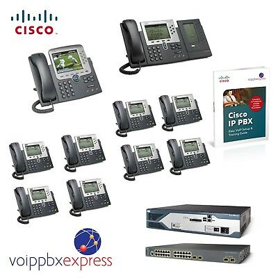 Cisco Small Business Phone System 10 VoIP PBX Phone Systems