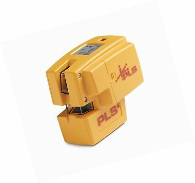 PLS 4 Red Cross Line Laser Level with Plumb, Bob and Level, PLS-60588 by Paci...