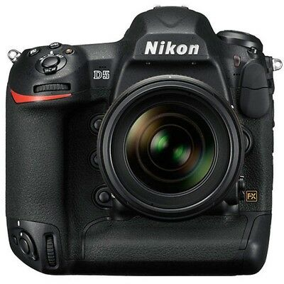 MINT!!! Nikon D5 20.8MP FX  Digital SLR Camera Body Dual CF Version 4K UHD Video
