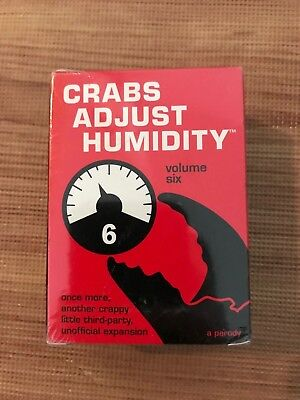 Crabs Adjust Humidity - Vol Six - unofficial cards against humanity expansion