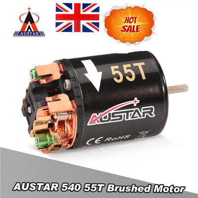 AUSTAR 540 21T 3.17mm Brushed Motor for 1//10 On-road Drift Touring RC Car NK