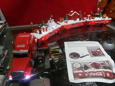 Coca Cola collectible caravan set 2017 New lights/sound  Spanish version